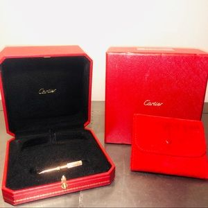 Cartier Love bracelet Box+18k RoseGold Screwdriver